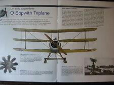 FASCICULE AVION 6P BIPLANS MYTHIQUES WWI WWII SOPWITH TRIPLANE / RAY COLLISHAW
