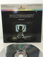 Poltergeist LaserDisc in Stereo with Extended Play