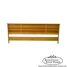 "Paul Frankl for Johnson Furniture ""Station Wagon"" King Size Headboard"