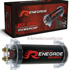 Renegade RX-1200 1,2 Farad PKW Powercap Auto Kondensator für Verstärker 1,2 F