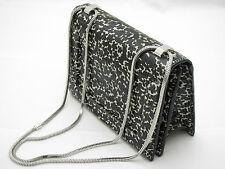 "3.1 PHILLIP LIM ""Soleil"" Mini Chain Shoulder Bag Black Cream Leather BNWT"