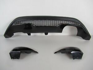 ford fiesta st rear bumper Diffuser And Side Extensions 2009 Onwards 3 D And 5 D