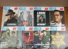 LE JOURNAL DE LA FRANCE les années 40 GUERRE 39/45 : lot de 16 Nos 121 à 139
