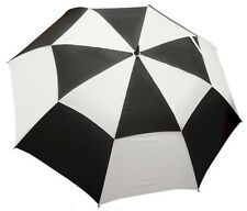"""62"""" Double Canopy Golf Umbrellas - Available in Various Colors"""