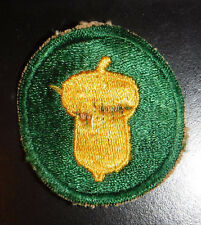 WW2 US Army 87th Infantry Division Military Patch Very Old
