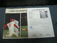 Roger Maris Autographed Sports Illustrated Magazine Photo JSA Certified