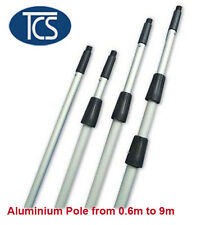 Single/ Extension 3 Level Professional Window Cleaning Supply Aluminium Pole