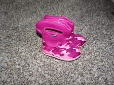 BOGS PINK WINTER BOOTS SZ 4 BABY GIRLS