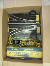 American Flyer Five Box's Of Track Plus A Clean Pair Of Electric Remote Switches