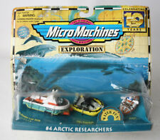 VINTAGE 1996 MICRO MACHINES EXPLORATION #4 ARCTIC RESEARCHERS GALOOB NEW SEALED!