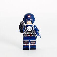 **New** DRAGON BRICK Custom Captain Punisher Lego Minifigure