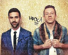 Macklemore & Ryan Lewis signed 8X10 photo picture poster autograph RP 2