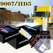S2 9007 100W LED Headlight Bulb Kit for 2003-2012 International Truck 4300 4400