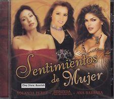 Yolanda Perez,Briseyda y Los Muchachos,Ana Barabara Sentimientos de Mujer CD New