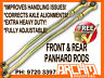 TOYOTA LANDCRUISER 105 SERIES FRONT & REAR ADJUSTABLE PANHARD ROD - OD 30MM