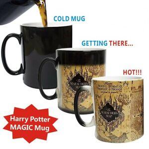 Harry Potter Marauder's Map Heat Color Changing Ceramic Mug