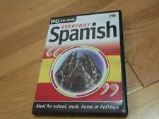 Everyday Spanish PC CD-Rom