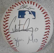 San Francisco Giants Prospects Signed Baseball w/ Christian Arroyo - 5 Auto