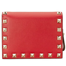 Valentino Zip Around French Wallet - Red