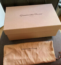 Gianvito Rossi - Brown Shoe Box Dust Bag Heel Tips Tissue 12 x 8 x 4�