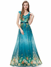 Satin Hand-wash Only Formal Floral Clothing for Women
