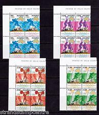 Nauru-jeux olympiques de 2000-u/m-sg 515-8 coin blocs de quatre