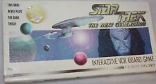 Star Trek The next generation unique collectors edition 135045 VCR board game