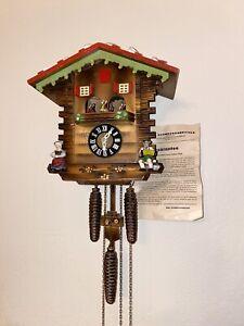 Emil Schmeckenbecker Cuckoo Clock 1960's Made In Germany - VINTAGE