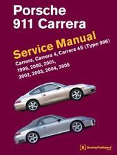 PORSCHE 911 996 CARRERA 4 4S CABRIOLET Owners Repair Service Manual Handbook