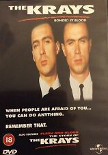 THE KRAYS BONDED BY BLOOD & FLESH AND BLOOD GARY & MARTIN KEMP UNIVERSAL DVD NEW