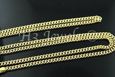 3.60 grams 18k solid Yellow gold curb link chain necklace 18 inches #548