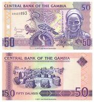 Gambia 50 Dalasis ND 2006 P-28 Banknotes UNC