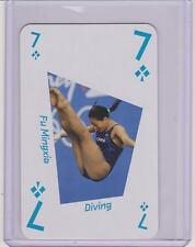 RARE 2012 LONDON UK OLYMPIC FU MINGXIA CARD ~ CHINA ~ DIVING
