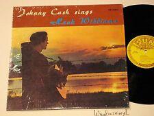 JOHNNY CASH SINGS HANK WILLIAMS, SLP 1245 SUN