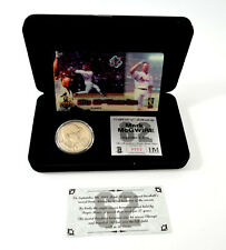 Highland Mint Mark McGwire Nickel Silver Coin & Motion Card Set # out of 1,000