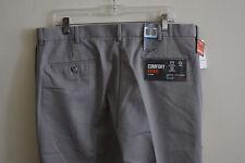 Dockers Mens D3 Classic Fit Flat Front Dress Casual Pants sz: W36 x L34 - Gray