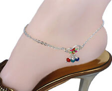 Fashion Jewelry Latest Collection Of Anklet 7339 Golden Cz Pearls Anklet Payal