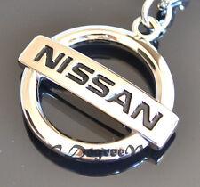 Nissan Silver Metal Keyring GTR Patrol Navara X Trail JUKE Pathfinder 200SX