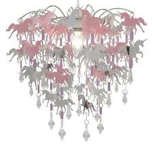 DECO EXPRESS Unicorn Chandelier Pendant Ceiling Light Shade Bedroom Lamp