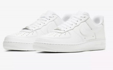 premium selection f0866 4c3a4 New Mens Sz 8-14 Nike Air Force One 1 Low Top Triple White 315122