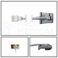 Nellcor SpO2 Pediatric Soft Shell Finger Sensor DB9 9 Pin Cable - 10FT/3M