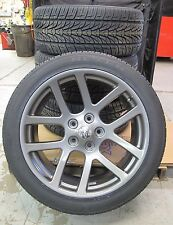 "22"" Dodge Ram 1500 SRT10 Style Gunmetal Wheels and 305-40-22 Nexen Tires 2223"