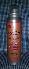 Schwartzkopf Got 2B Rise 'N' Shine Body + Gloss Radiance Bounce Whipped Mousse