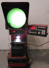 11450 STARRETT SIGMA VERTICAL BENCH OPTICAL COMPARATOR, QUADRA-CHEK 2000 VB300