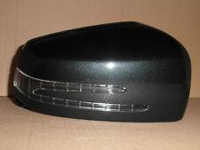 Mercedes A B C E S Wing Door Mirror Cover Driver Right LED Indicator Black 9183
