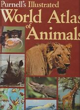 **PURNELL'S ILLUSTRATED WORLD ATLAS OF ANIMALS** Chris Grey - 1984 - Near Mint