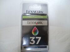 Cartouche d'encre Couleur Lexmark N°37 Jet d'encre  Cartridge Sous Blister