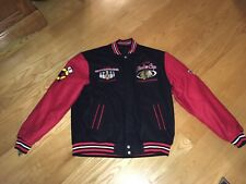 Chicago Blackhawks 2013 Stanley Cup Champions JH Letterman Jacket Sz. L New