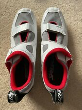 New listing Specialized Trivent Expert Road Cycling/Triathlon Shoes White/Black EU 44