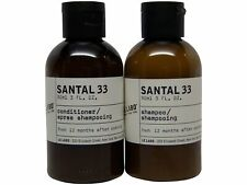 Le Labo Santal 33 Shampoo & Conditioner lot of 2 (1 of each) 3oz bottles.